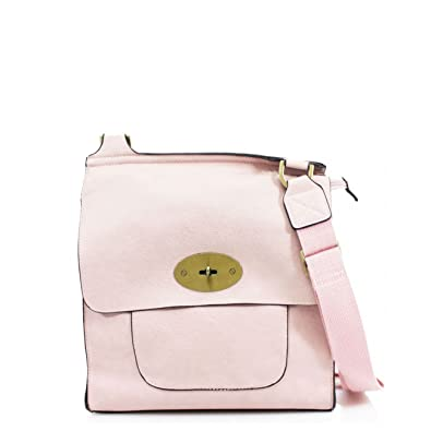 LeahWard® Women sMessenger Bag Pink H24cm x W22cm x D8cm  Amazon.co.uk   Luggage 61c0238ebb116