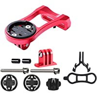 Bike Accessory Bicycle Code Table Holder Cycle Alloy Stem Extension Mount Holder for GPS Computer Sports Camera Red