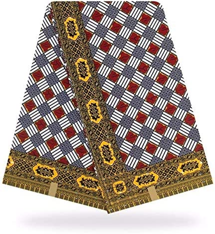 Amazon Com Fabric African African Dutch Wax Hollandais African Real Guaranteed Dutch Wax Hollandais Wax 6yards Lot For Women Dress By Atusy