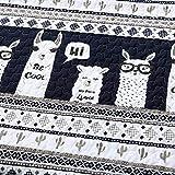 Lush Decor Llama Stripe Daybed 6 Piece