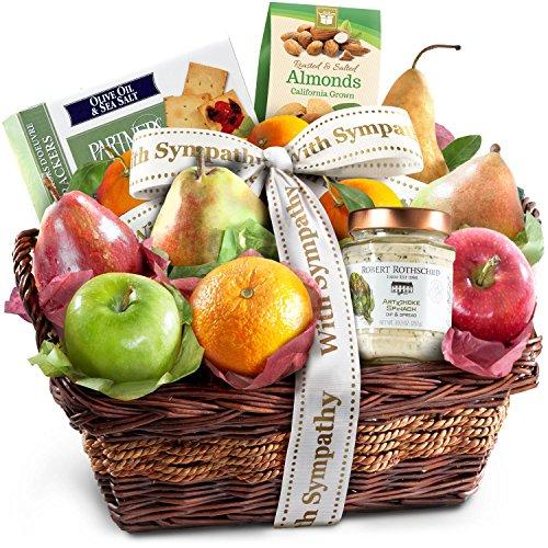 Sympathy Classic Gourmet Fruit Basket Gift ()