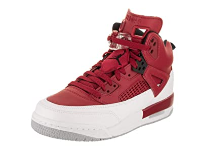 5d3b1e8e23f1 ... new zealand jordan spizike bg big kids shoes gym red black white wolf  grey 317321 dddc1