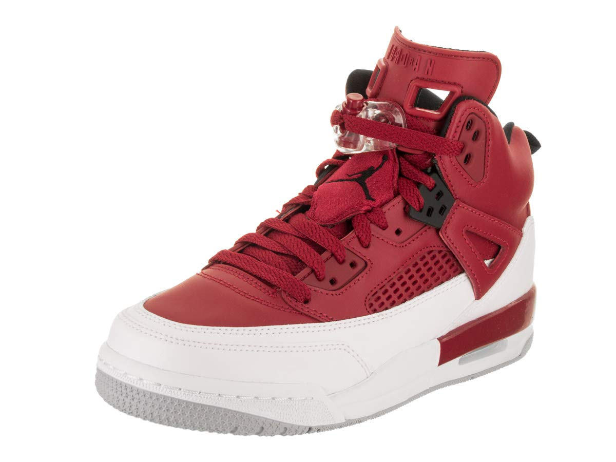 Jordan Nike Kids Spizike BG Gym Red/Black/White/Wolf Grey Basketball Shoe 6 Kids US