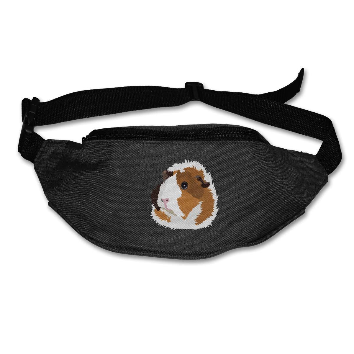 Cute Guinea Pig Sport Waist Pack Fanny Pack Adjustable For Run