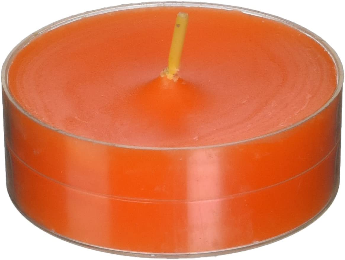 Mega Oversized Red s Zest Candle 12-Piece Tealight Candles