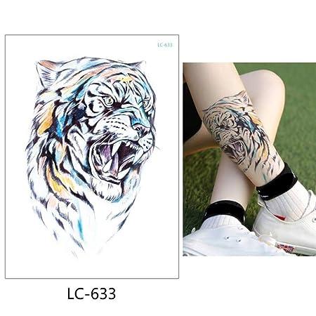 adgkitb Etiqueta engomada del Tatuaje Temporal 3pcs Animales LC ...