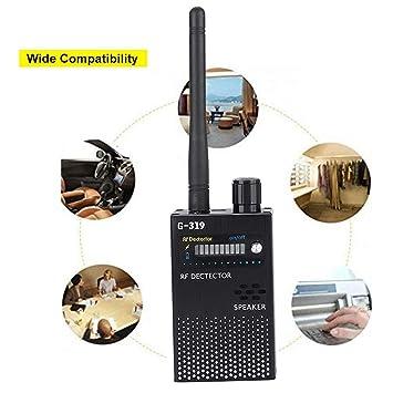 ASHATA Detector de Señal RF Portátil,Finder Tracker 1MHz: Amazon.es: Electrónica