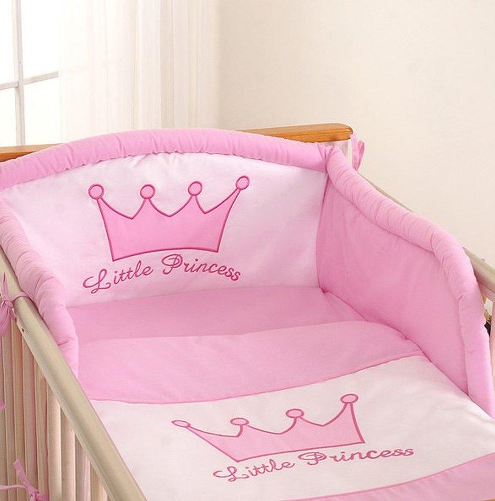 Tour de lit bébé - 120*60 ou 140*70 – Princesse rose: Amazon.fr ...