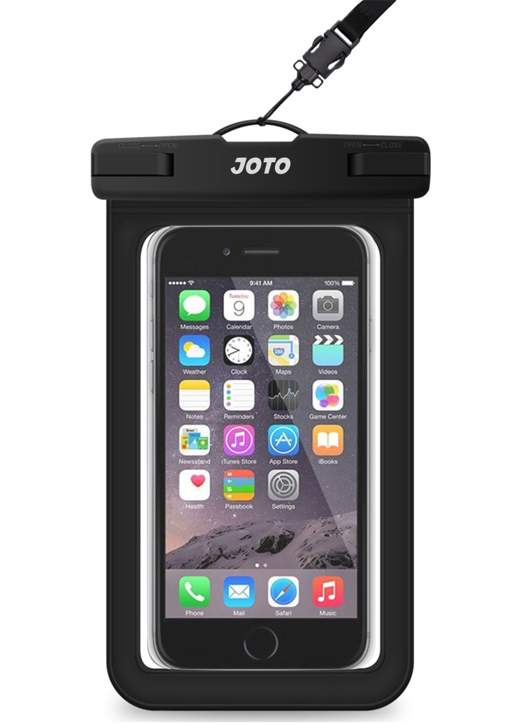 Universal Waterproof Case, JOTO Cellphone Dry Bag Pouch