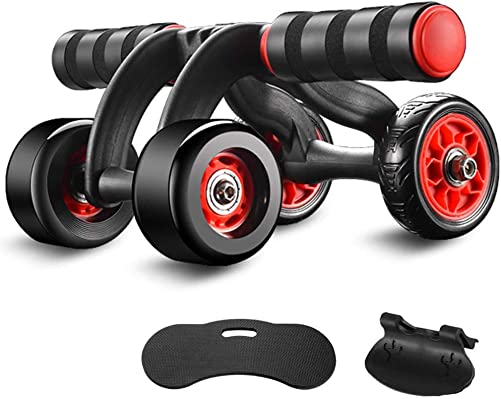 KEREITH Ab Roller for Abs Workout Ab Roller Wheel Exercise Equipment for Home Gym