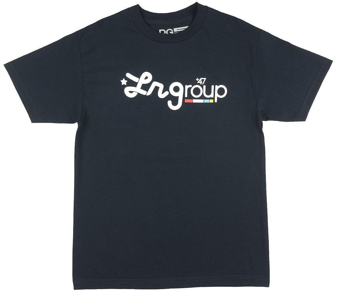 LRG Wavy Knit T-Shirt Black Heather
