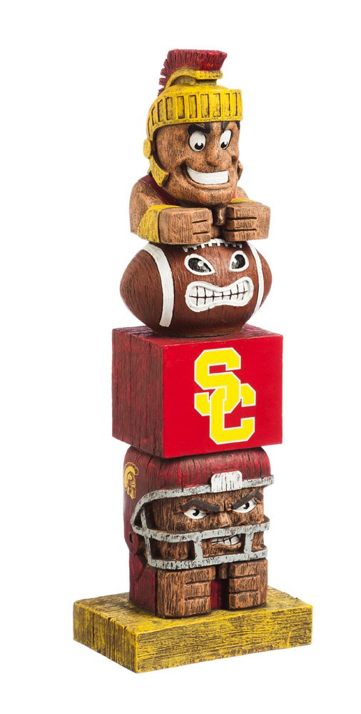 Evergreen NCAA Southern California Trojans Tiki Totem