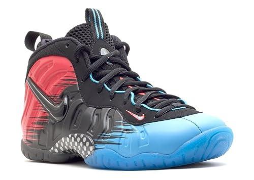 519178c01c4 Nike Little Posite Pro Grade School (GS) Sneakers Vivid Blue Lightt  Crimson Black 400  Amazon.ca  Shoes   Handbags