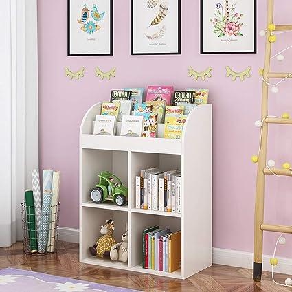 Librerías HUO Estantería para niños Escritorio Pequeño ...