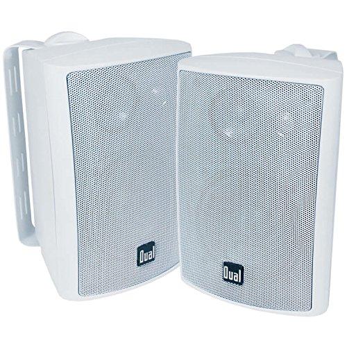 Dual LU47PW 4 3-Way Indoor/Outdoor Speakers - White
