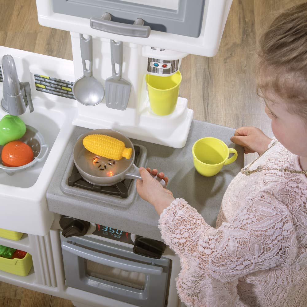 Step2 Downtown Delights Kitchen Kids Playset, Gray by Step2 (Image #5)