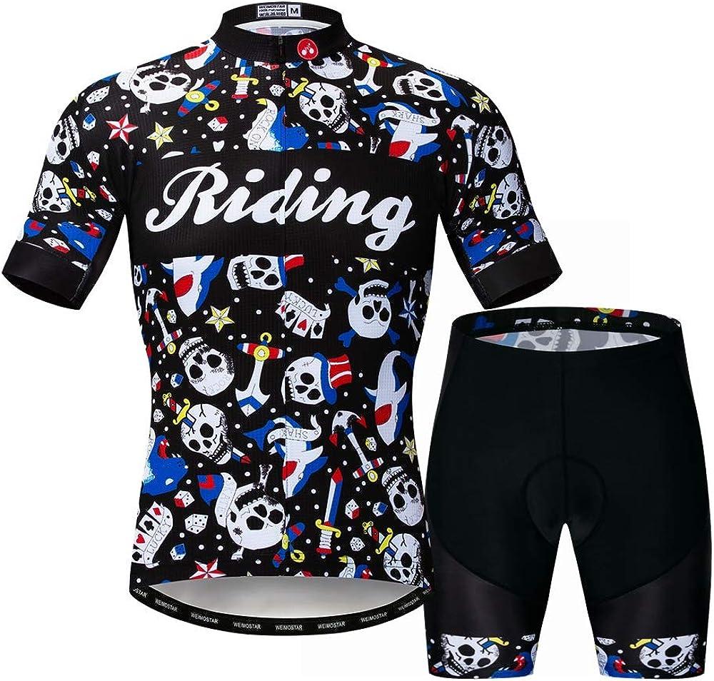 Cycling Jersey Shorts Set Pro Team Bicycle Clothing MTB Bike Jerseys for Men