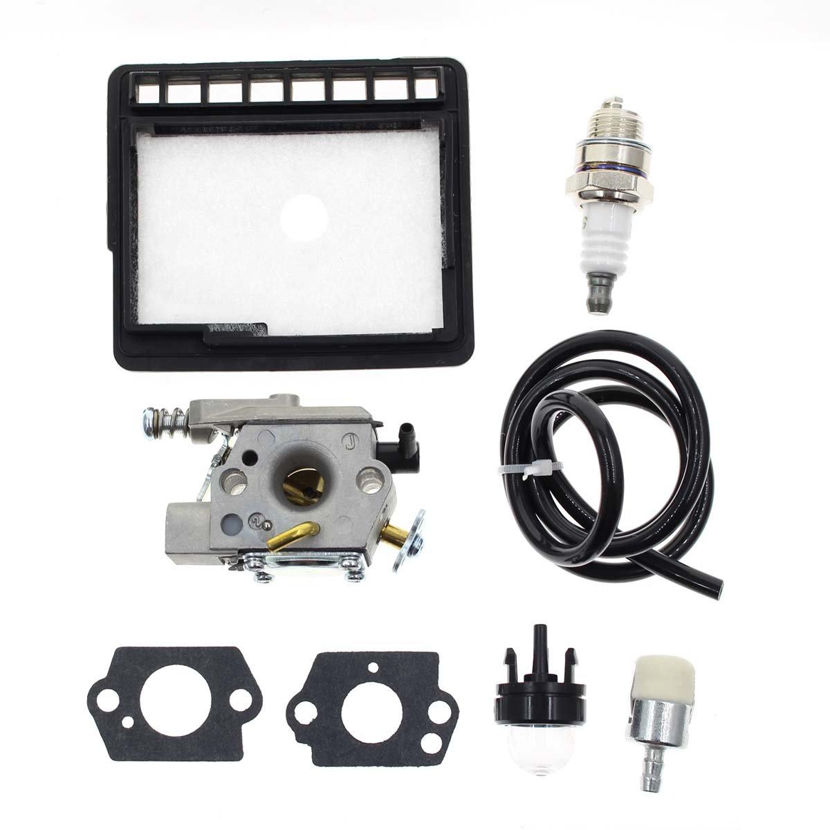 AUTOKAY Carburetor & Fuel Filter For Echo CS-341 CS-345 CS-346 CS-3000 CS-3450 CS-3400