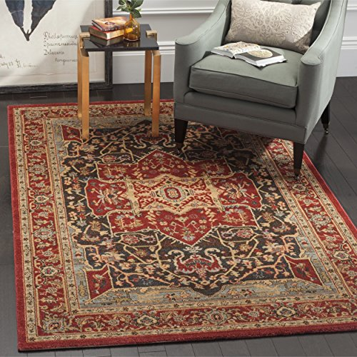 Red Mahal Rug (Safavieh Mahal Collection MAH625D Traditional Oriental Red Area Rug (6'7