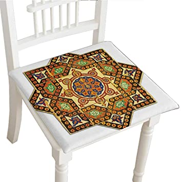 Amazoncom Classic Decorative Chair Pad 16x16x2pcs Seat - Decorative-floral-print-chairs-from-floral-art