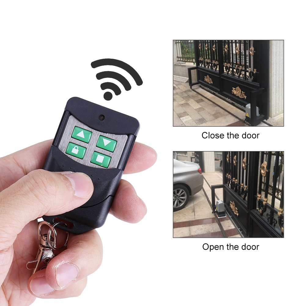 2000KG Sliding Electric Gate Opener Smart Automatic Motor Heavy Duty Driveway Security Kit, Track Driveway Security Kit with Infrared Anti-Pinch Function(Set 1) by EBTOOLS (Image #3)