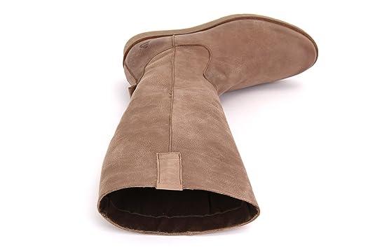 BULLBOXER 924511E7L-ADKTPTD80 Damen Schaftstiefel: Amazon.de: Schuhe &  Handtaschen