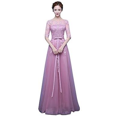 Kleid lila farben