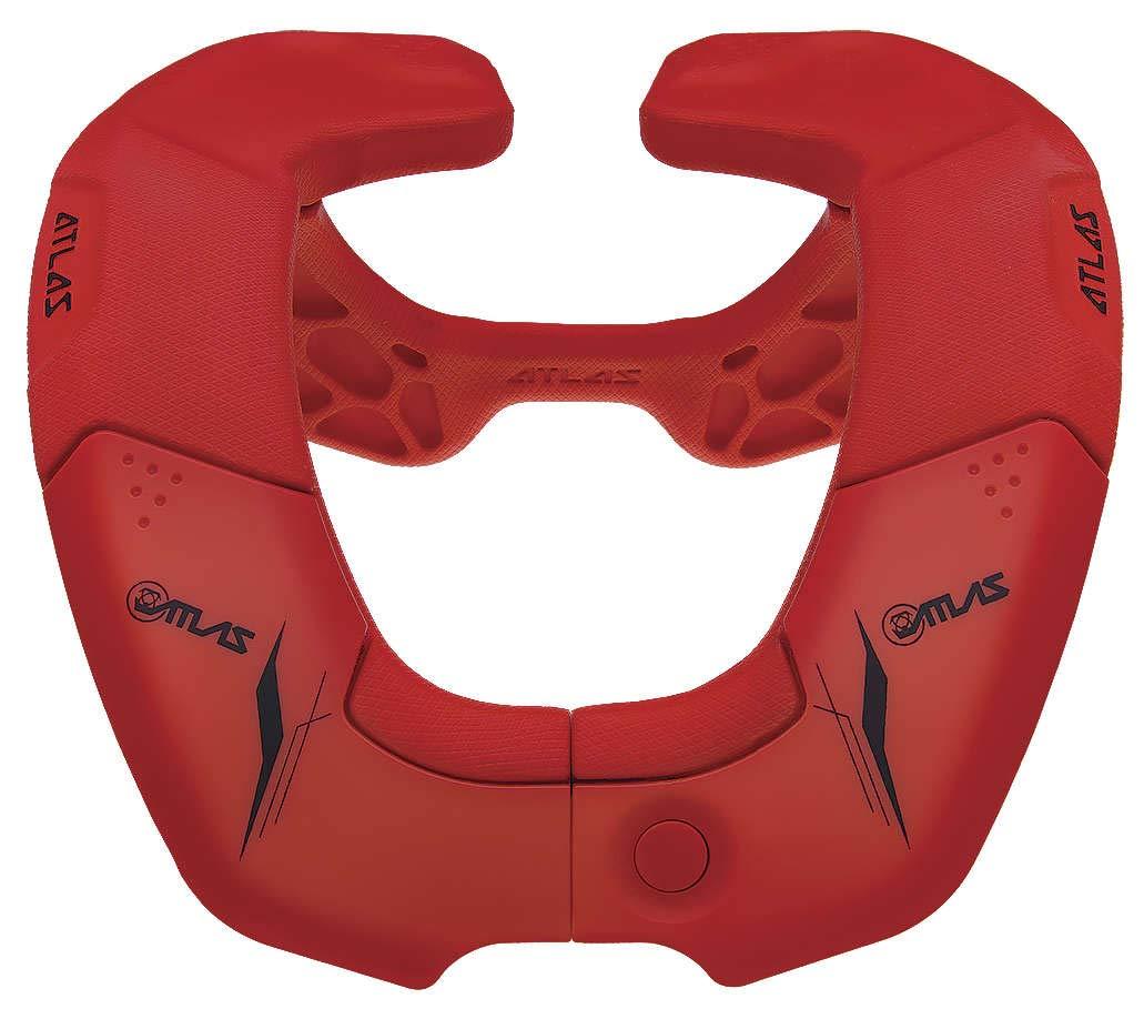 Atlas Brace Onebroll Fire Red Br3-02-000 New