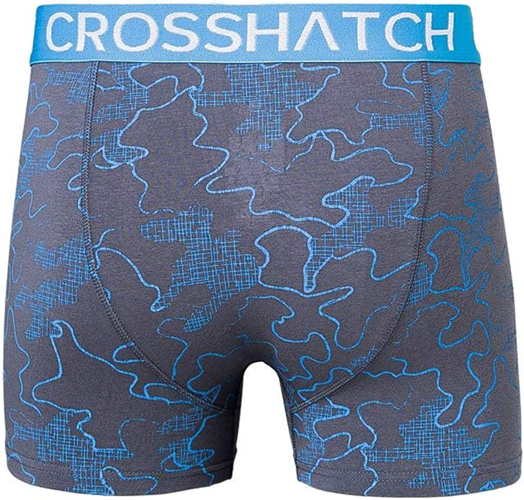 Crosshatch Mens Boxers Shorts Multipacked 3PK Underwear Gift Set 3 Pack Tresco