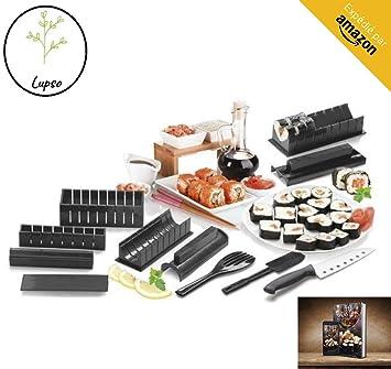 Clahshop LUPSO - Kit per Sushi Maki, Completo di Accessori ...