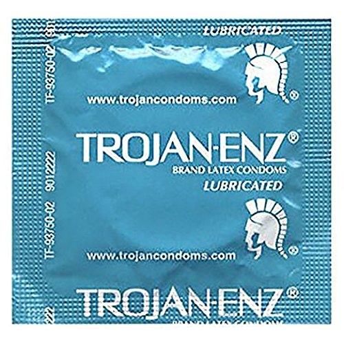 Trojan Condom ENZ Lubricated, 1000 Count by Trojan