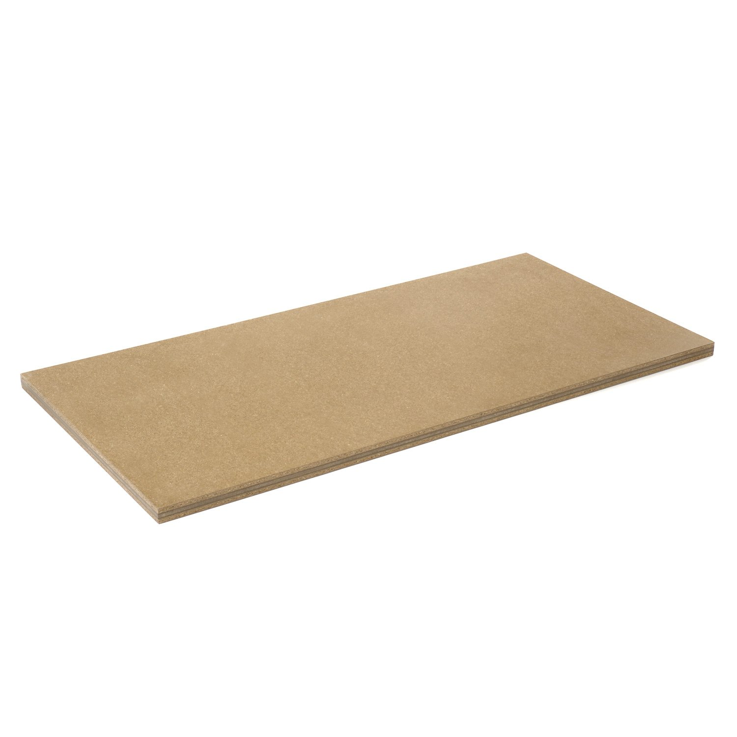 Nexel BTS730 Shop Top Safety Edge Bench Tops, 72'' Length x 30'' Width, 1-3/4'' Thickness, Wood
