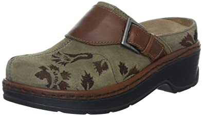 Klogs USA Women's Austin Clog,Taupe Tapestry,8 ...