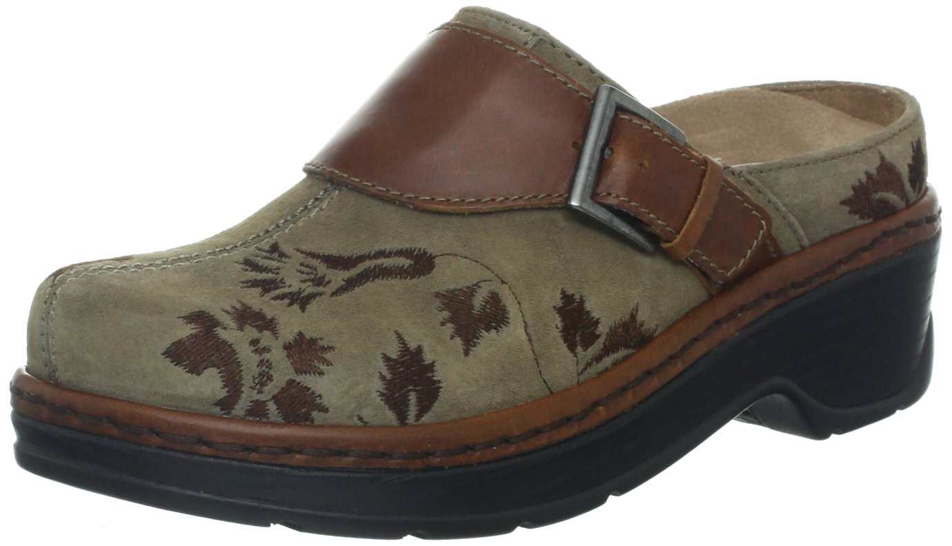 Klogs USA Women's Austin Clog,Taupe Tapestry,8 M US