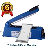 T-TECH Portable Electric Impulse Plastic Bag Sealing Machine (Blue Or Green) (8 INCHES)
