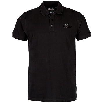 3800560e2d11 Kappa Peleot Polo Shirt, Men, Polo Peleot Shirt, Black, XL: Amazon ...