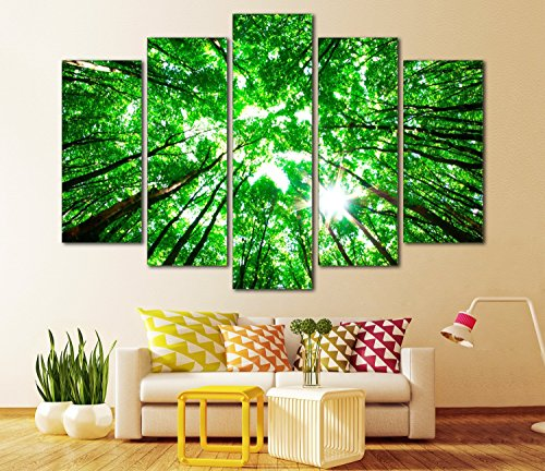 Landscape Painting Pictures Gallery wrapped Stretched product image