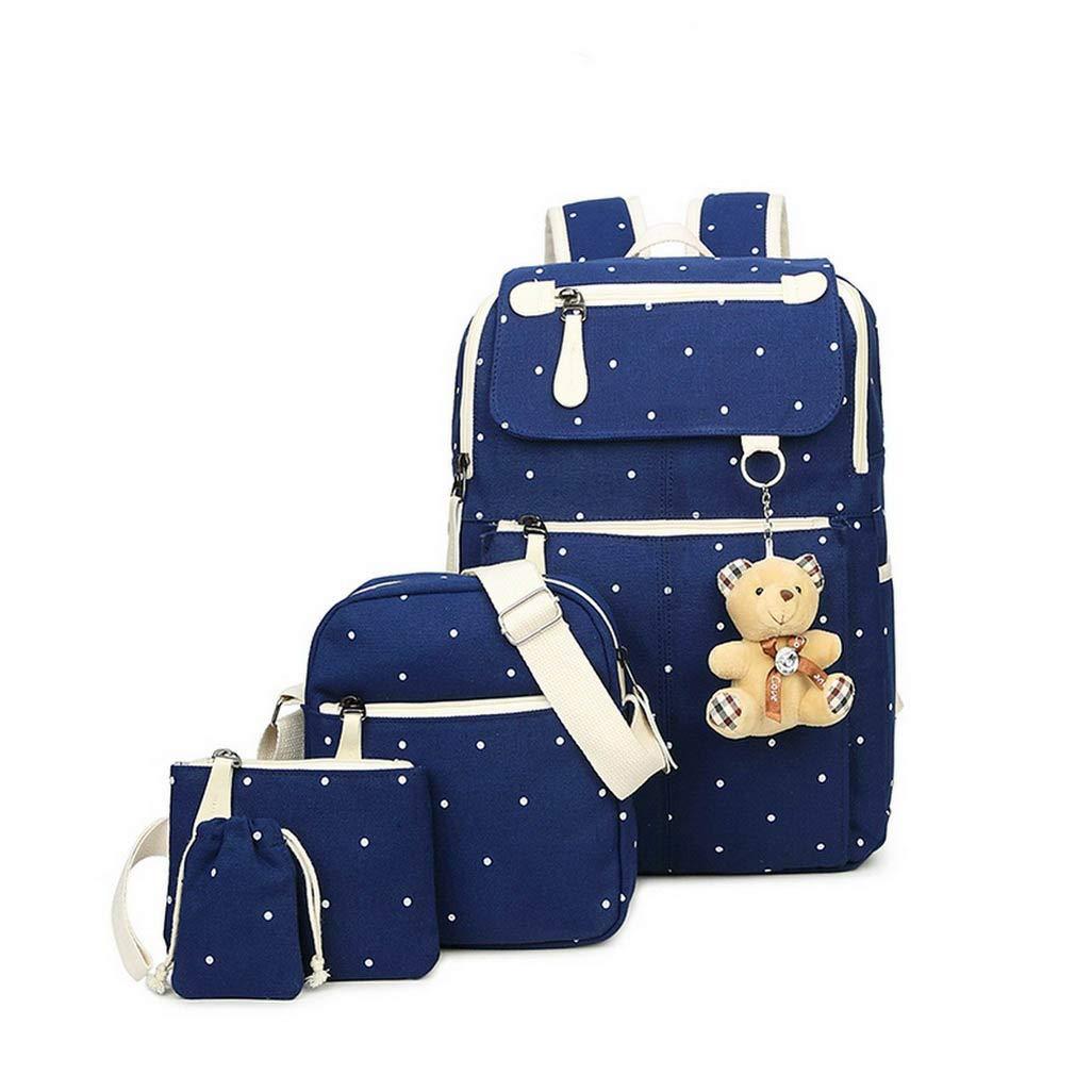 Women Canvas Backpacks College bag Fashion Plecak for Teenager Girl And Boys Rucksack Moclila Shoulder Bag