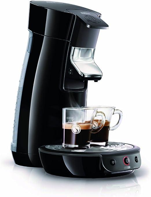 Philips HD7825/62 - Sistema de monodosis de café Senseo color negro,1450W, prepara 1 o 2 tazas de café en menos de un minuto, variedad de mezclas y sabores: Amazon.es: Hogar