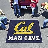 "Fan Mats Uc Berkeley Man Cave Tailgater Rug 60""X72"""