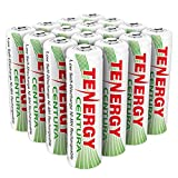 rechargeable household batteries - Tenergy AA Rechargeable NIMH Battery 2000mAh Pre-charged Household Battery Low Self Discharge High Performance AA Battery Pack for Remote Controller/Toys/Flashlight/Mice (16 PCS)