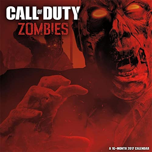 Call of Duty: Zombies - 2017 Calendar 12 x 12in