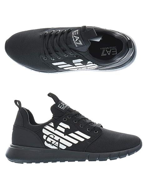 Emporio Armani Ea7 X8X008 XK008 Sneakers Uomo Nero 45-1  Amazon.it  Scarpe  e borse e888d496b62