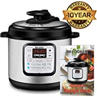 Becooker 4-Qt. Programmable Electric Pressure Cooker