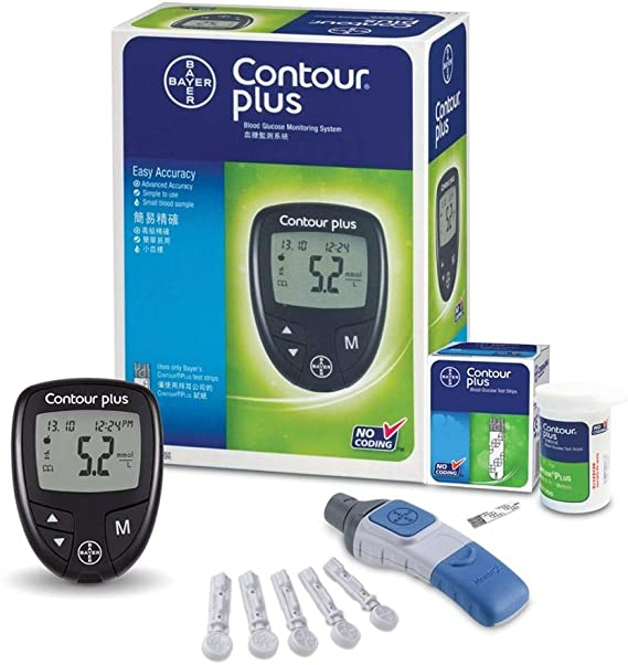 Medidor para Glicose Contour Plus Bayer
