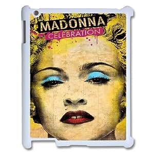 YUAHS(TM) DIY 3D Phone Case for Ipad 2,3,4 with Madonna YAS052614