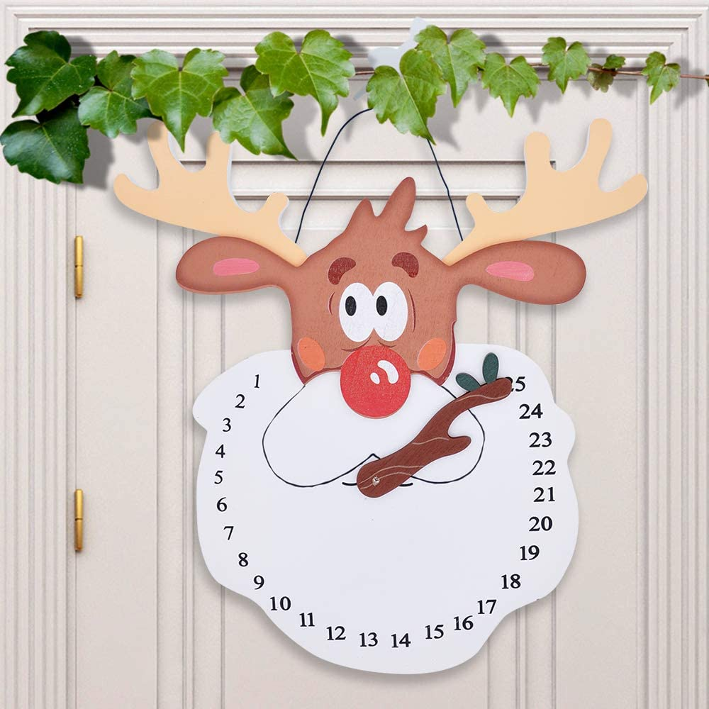 Christmas Countdown Clock Outdoor Decoration ...