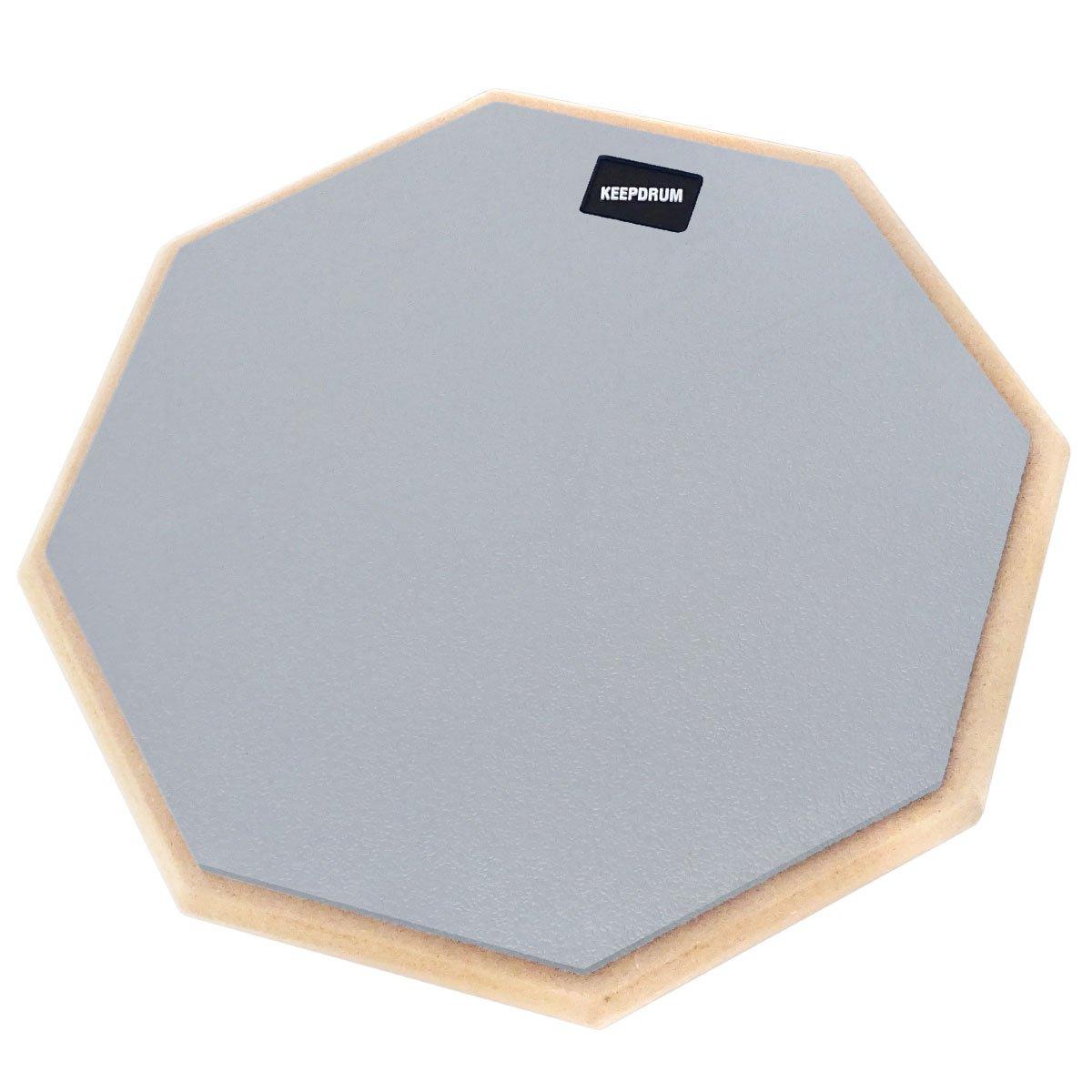 DP Keepdrum de gy12/Drum Practice Pad Gris /übungspad 12/pulgadas