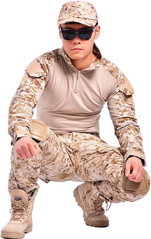 Amazon.com: Jaefjrinki - Traje militar de camuflaje para ...