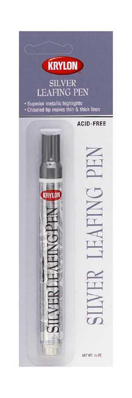 Krylon K09902A00 Leafing Pens, Silver, .33 Ounce
